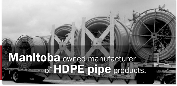 Hi-Density Poly-ethylene Pipe (HDPE) pipe products - International Pipe - Geothermal Pipe - Winnipeg Manitoba